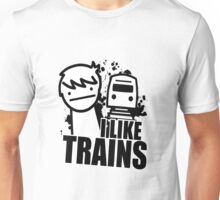 I Like Trains! Unisex T-Shirt