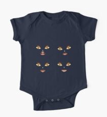 Face with Yellow eyes 4 Kids Clothes