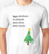 MERRY CHRYSLER Unisex T-Shirt