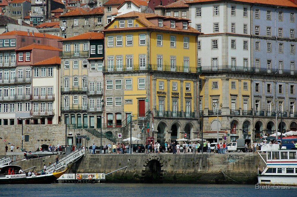 Porto, Portugal by Brett  Lewis