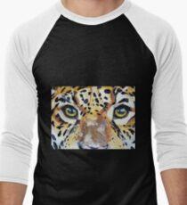 Visions of the Jaguar People Men's Baseball ¾ T-Shirt