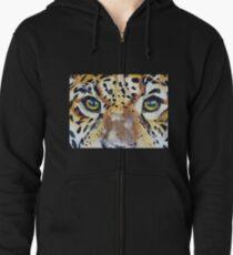 Visions of the Jaguar People Zipped Hoodie