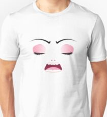 Unhappy Face 4 Unisex T-Shirt