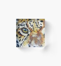 Visions of the Jaguar People Acrylic Block