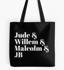 A Little Life (Black) Tote Bag