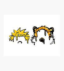 Calvin & Hobbes Grime Photographic Print