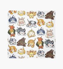 Dogs of Kawaii by dotsofpaint Scarf