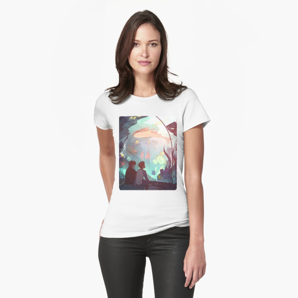 Saltwater Room Fitted T-Shirt
