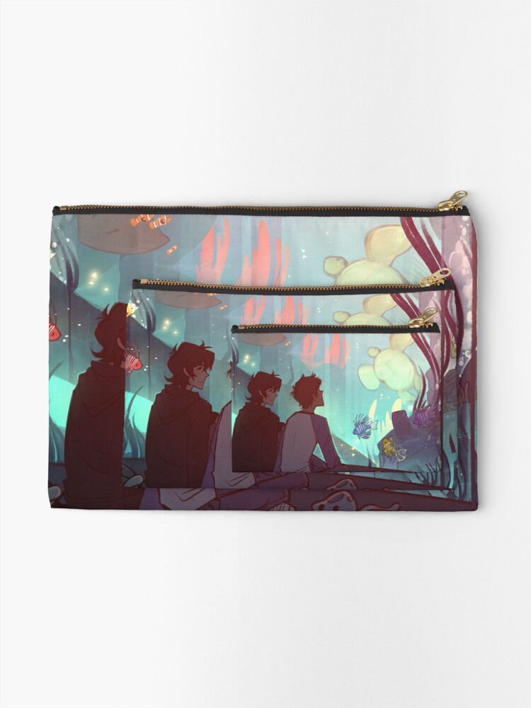 Alternate view of Saltwater Room Zipper Pouch