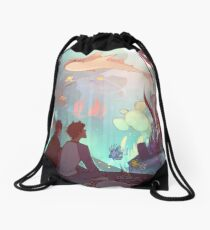 Saltwater Room Drawstring Bag