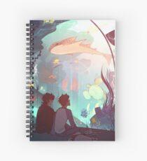 Cuaderno de espiral Sala de agua salada