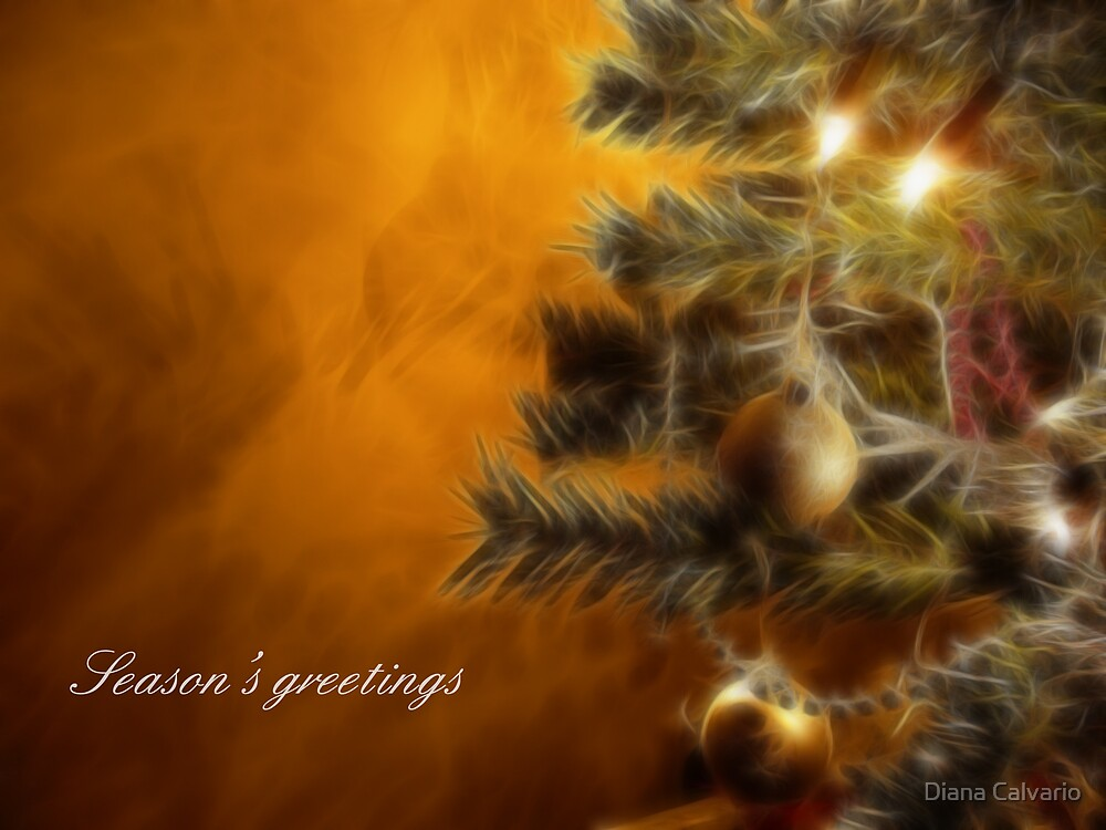 Seasons greetings by Diana Calvario