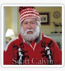 Scott Calvin-Santa Clause Sticker