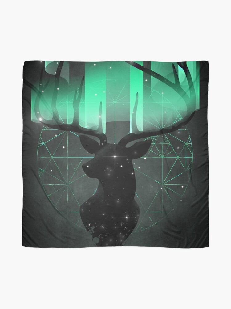 Alternate view of Northern Lights Scarf