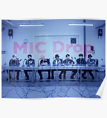 BTS Mic Drop Poster