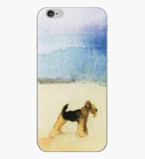 Airedale Terrier Dog 'Beach' iPhone Case