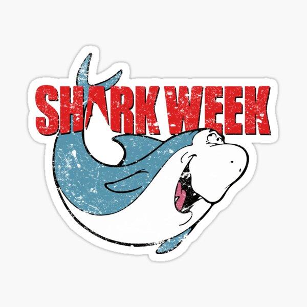Shark Week Jabberjaw Sticker