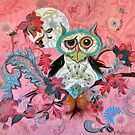 Owl in Pink by Alma Lee