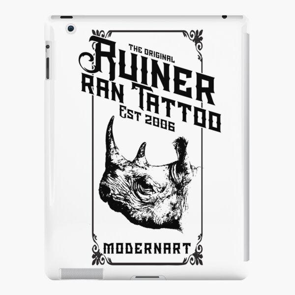Ruiner Ran Tattoo Modern Art iPad Snap Case