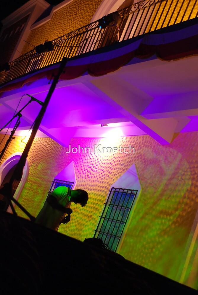 Colorful Deejay by John Kroetch