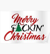 Merry f*cking Christmas VRS2 Poster