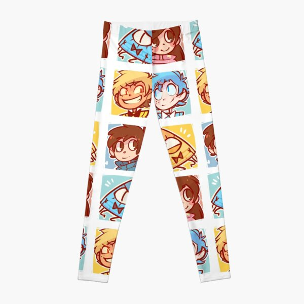 Gravity Falls Icons Leggings