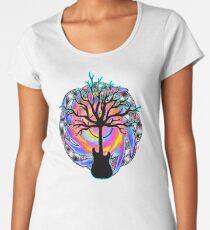 """Psychedelic Sonic Cyclone""   ( surreal guitar tree art) Women's Premium T-Shirt"