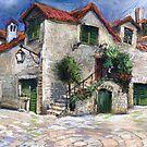 Croatia Dalmacia Square by Yuriy Shevchuk