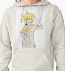 Len Kagamine Receiver Fanart Pullover Hoodie