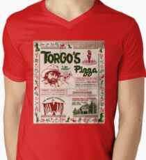 Torgo's Pizza Men's V-Neck T-Shirt