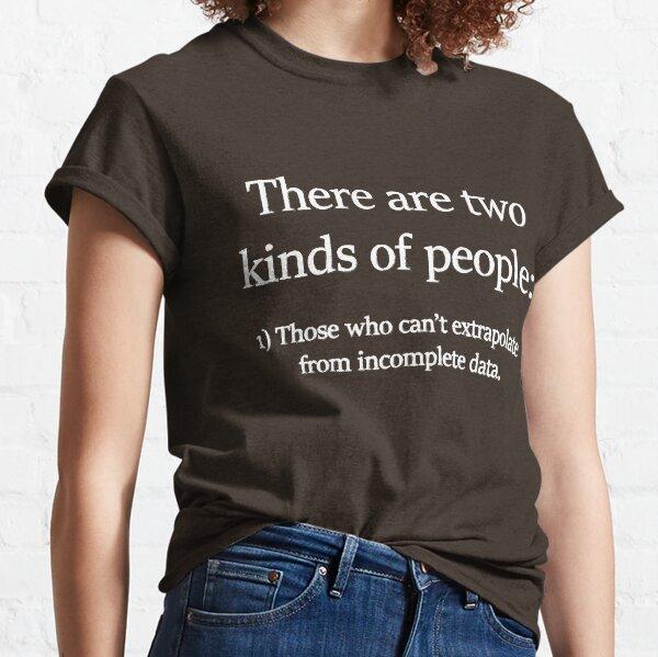 Data Science Shirts | Funny Math Geek Shirts Classic T-Shirt