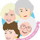 «Las chicas de oro te agradecen por ser un amigo» de Kathleen Frank