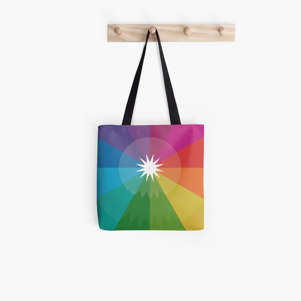 Happy Hue-lidays! Tote Bag