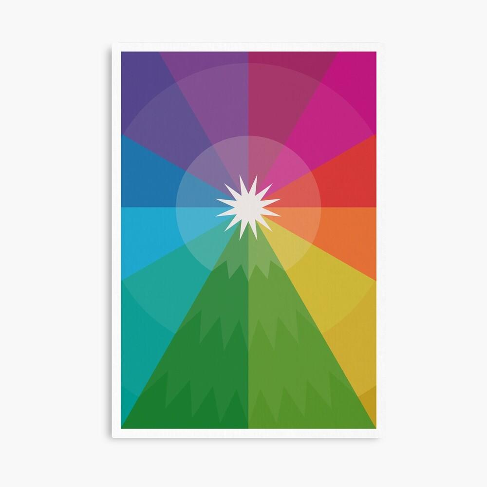 Happy Hue-lidays! Canvas Print
