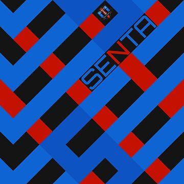 Senta FC - Modern Shirt Design by ReverseG