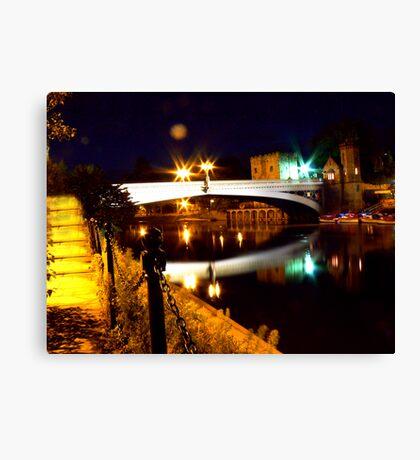 Lendal Bridge - York Canvas Print