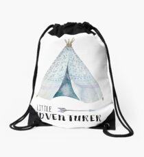 little adventurer Drawstring Bag