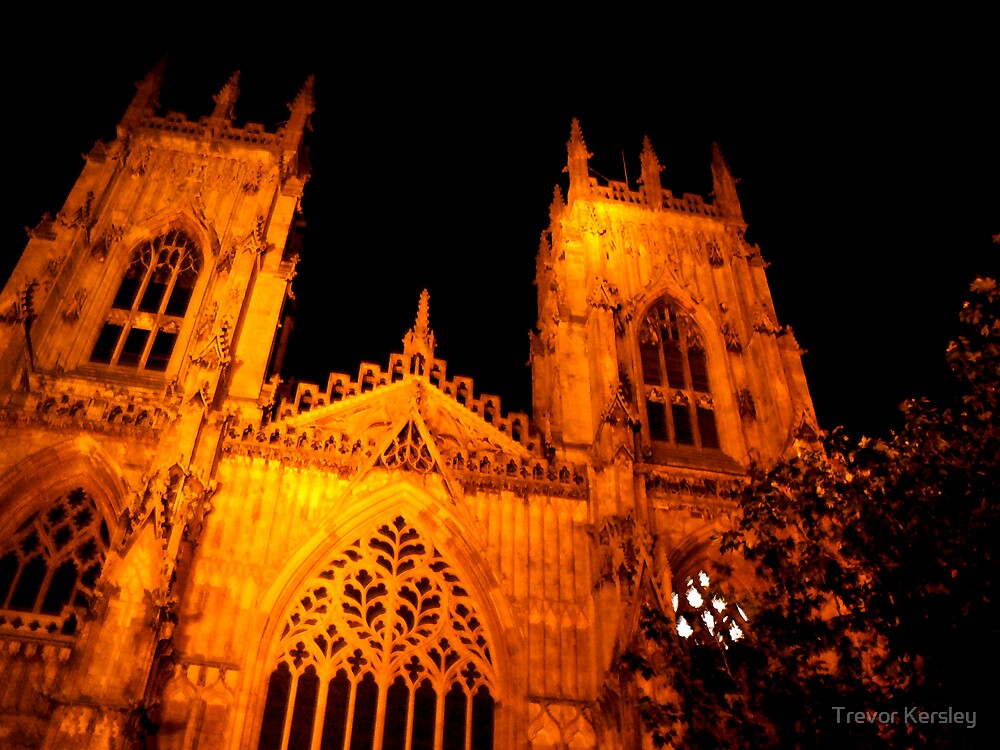 The Minster - York by Trevor Kersley