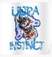 Póster Goku Ui