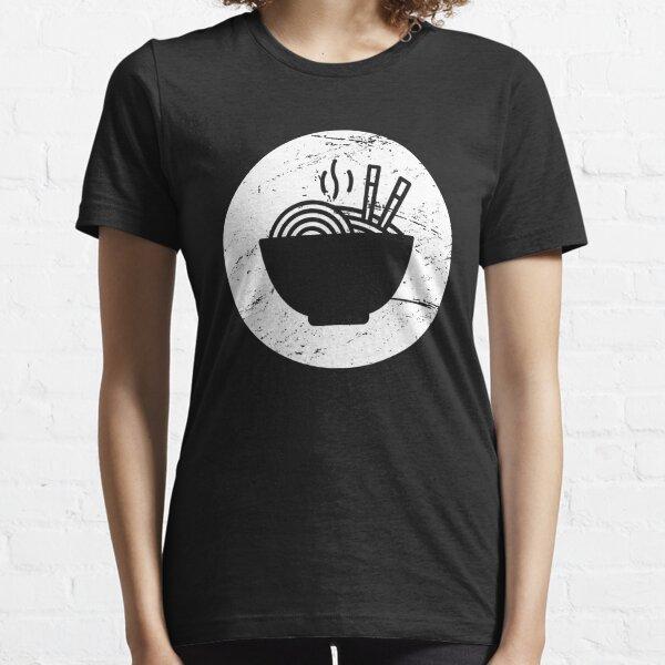Retro Distressed Ramen Icon Essential T-Shirt