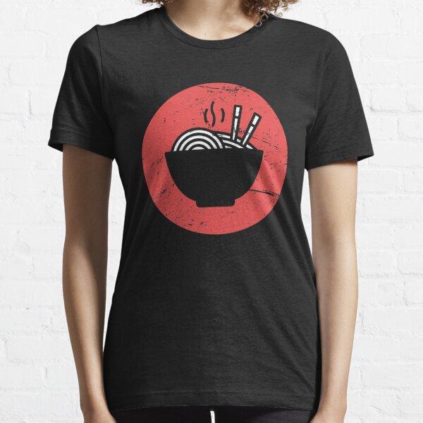 Icône de Ramen japonais rétro T-shirt essentiel