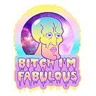 Fabulous Squidward by Amy Grace