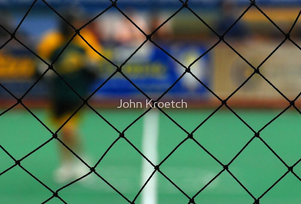 Lacrosse Mesh by John Kroetch