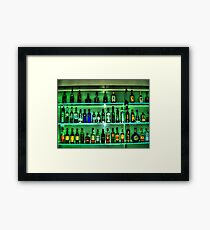 Booze night Framed Print