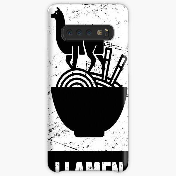 Llamen - Funny Llama Ramen Design Samsung Galaxy Snap Case