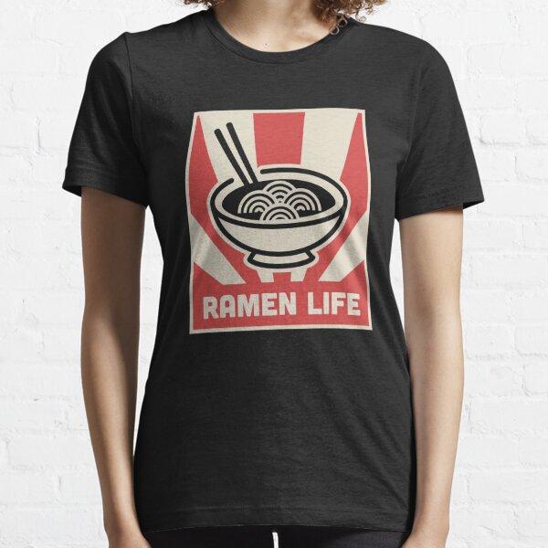 Retro Japanese Style RAMEN LIFE Poster Essential T-Shirt