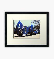 The Cross Kirk, Peebles(digitally enhanced photograph) Framed Print