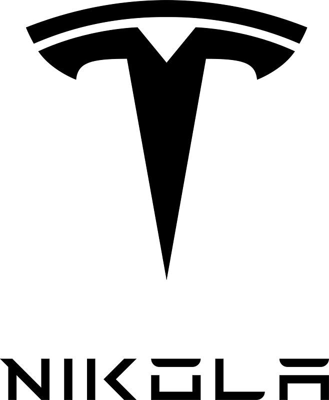 Quot Nikola Tesla Logo Quot Stickers By Dale Harvey Redbubble