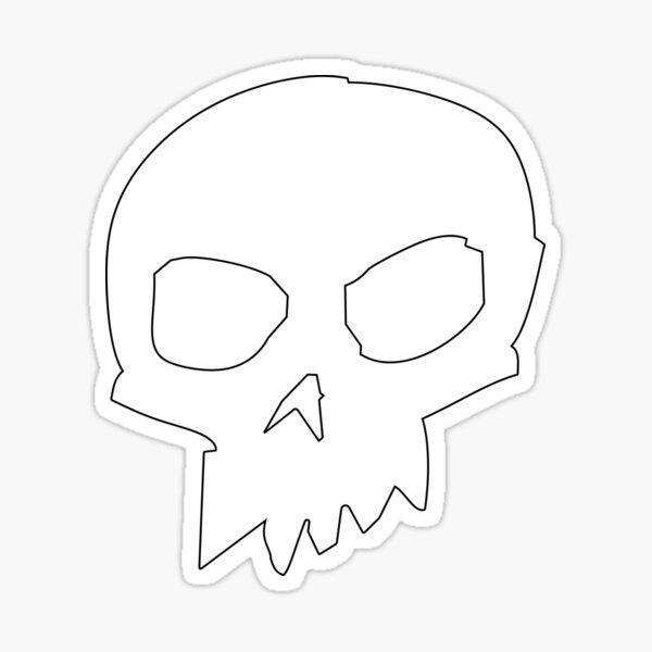 Skull ~ Sid Sticker