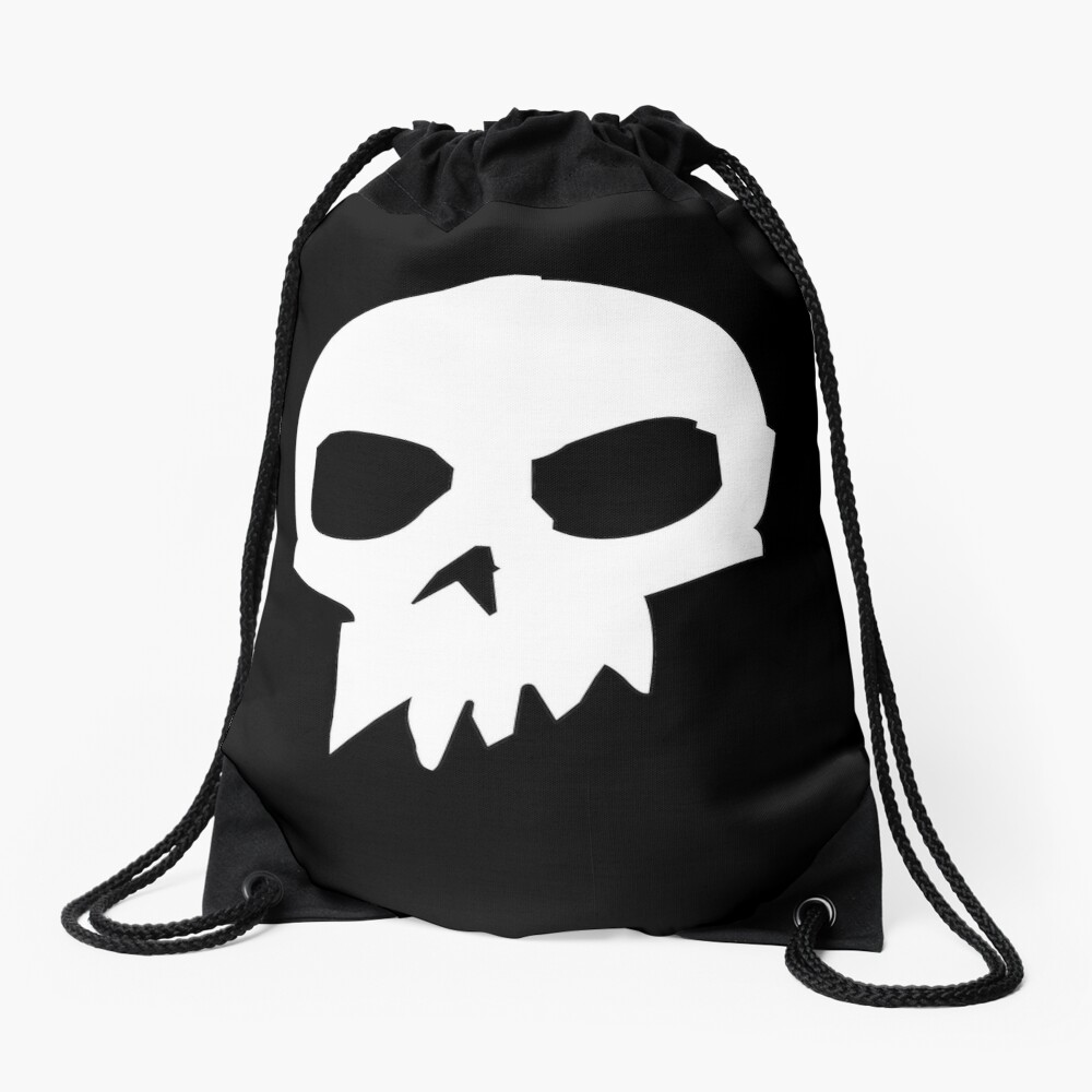Skull ~ Sid Drawstring Bag